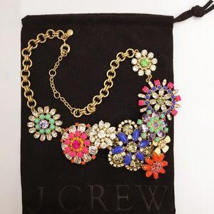 JCrew Necklace cluster stone necklace